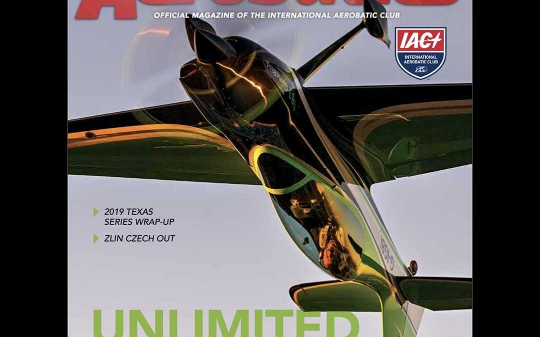 GB1 GameBird featured in Sport Aerobatics