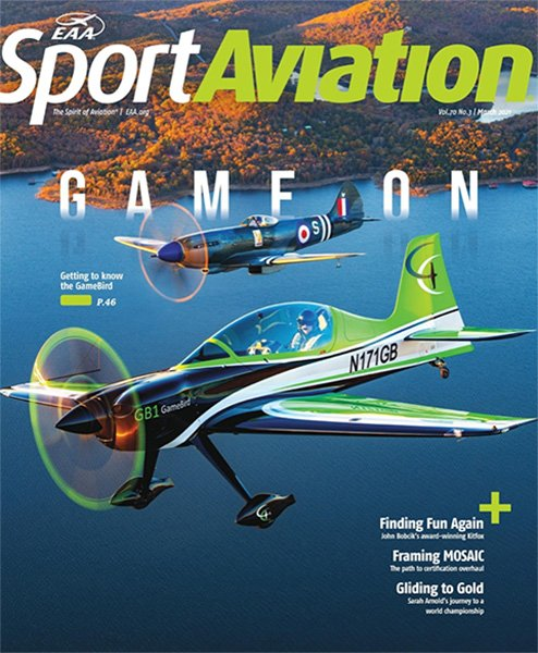 GB1 GameBird featured in EAA Sport Aviation Magazine