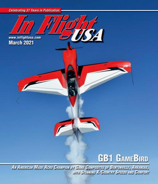 GB1 GameBird featured In Flight USA Magazine